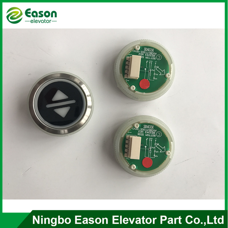 Kone elevator button ,Kone button ,elevator push button ,853343H02